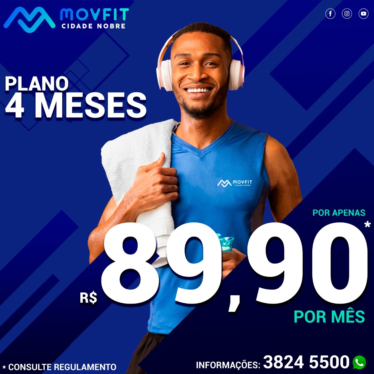 Movfit Plano 4 Meses