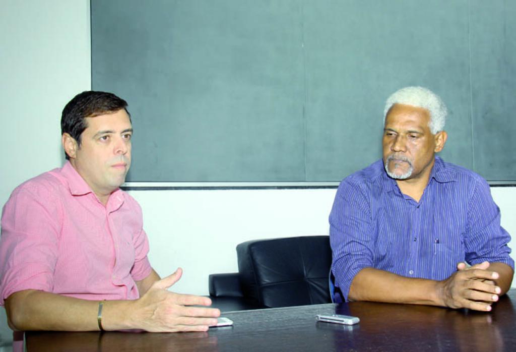 Cristiano Araújo e Wanderly Ribeiro destacam a reestruturação do clube 8392fda49c05a