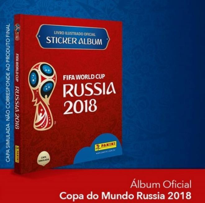 Panini lança álbum de figurinhas oficial da Copa do Mundo da FIFA ... 40e8201a6c4