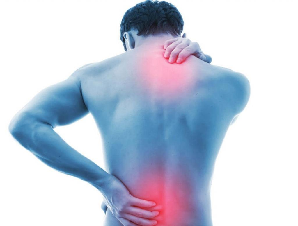dores e dores nas costas