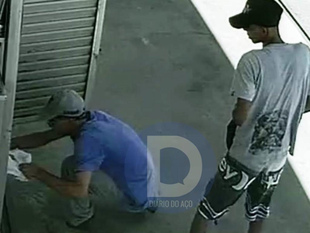 be0a1d9204f PM prende acusado de assaltar posto e pedestre em Fabriciano