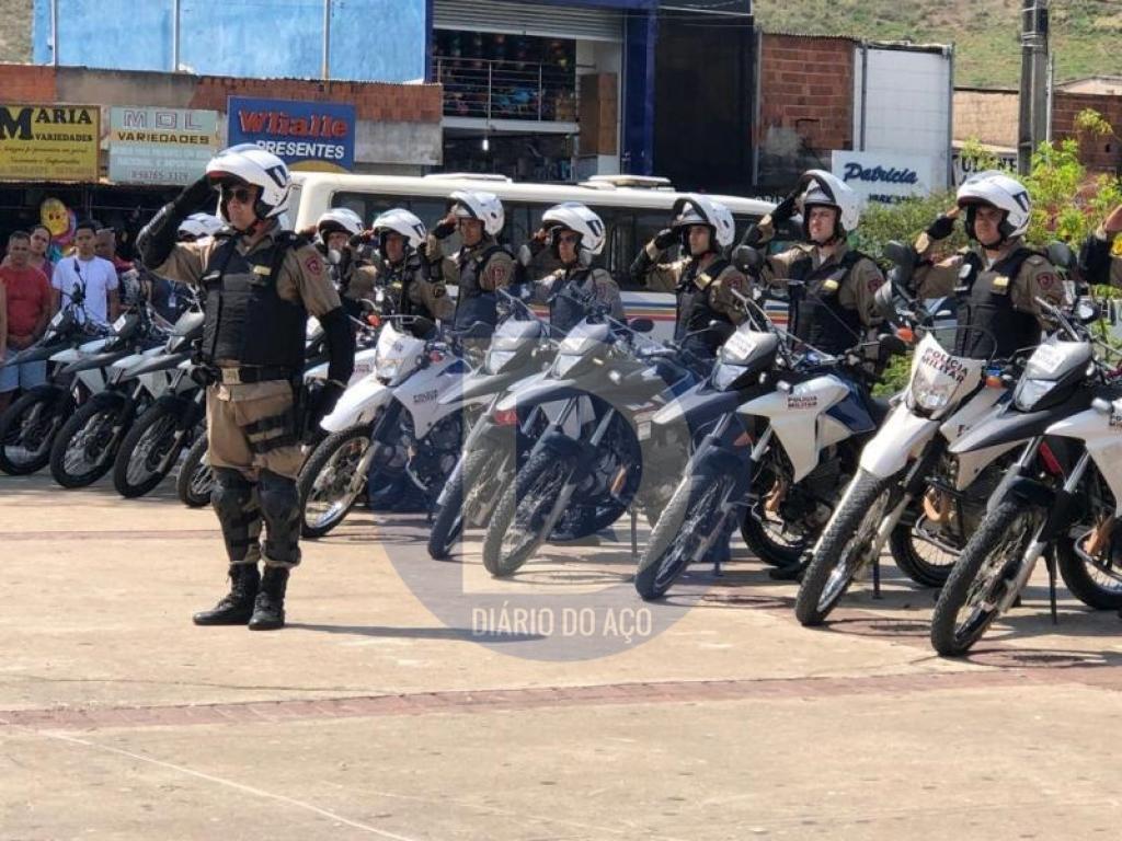 58º BPM forma 27 motopatrulheiros, em Coronel Fabriciano - Jornal Diário do Aço
