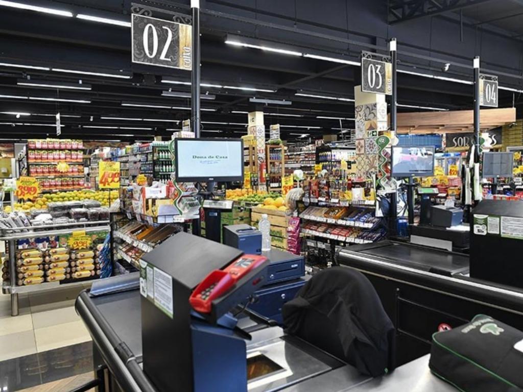 telefone do supermercado cesta de alimentos