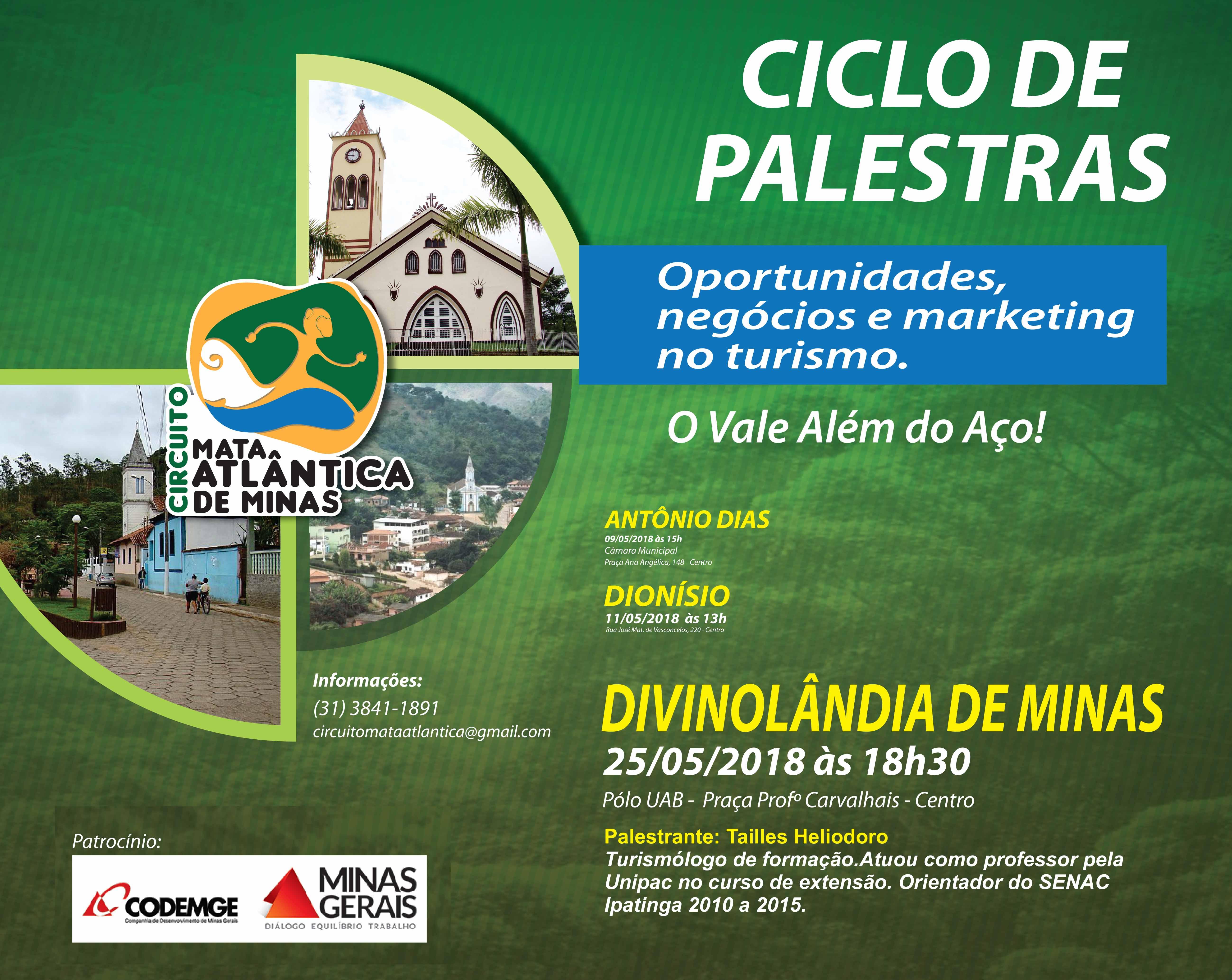 CICLO PALESTRAS 14 05