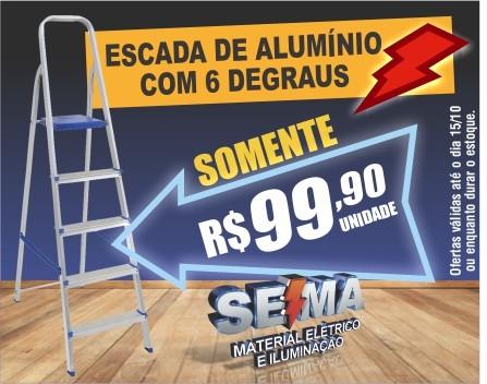 SEMA - ESCADA DE ALUMINIO